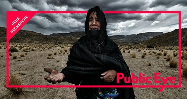 Neue Recherche von Public Eye zeigt die bittere Realität in einer Glencore-Mine in Bolivien