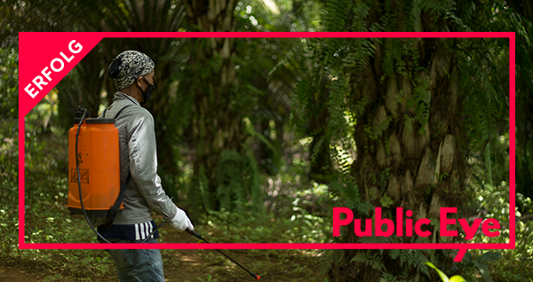 Erfolg für Public Eye: Bundesrat verbietet Ausfuhr von fünf verbotenen Pestiziden